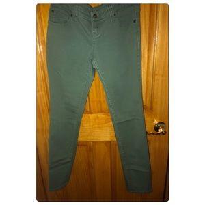 👖Olive Green Straight leg Jeans